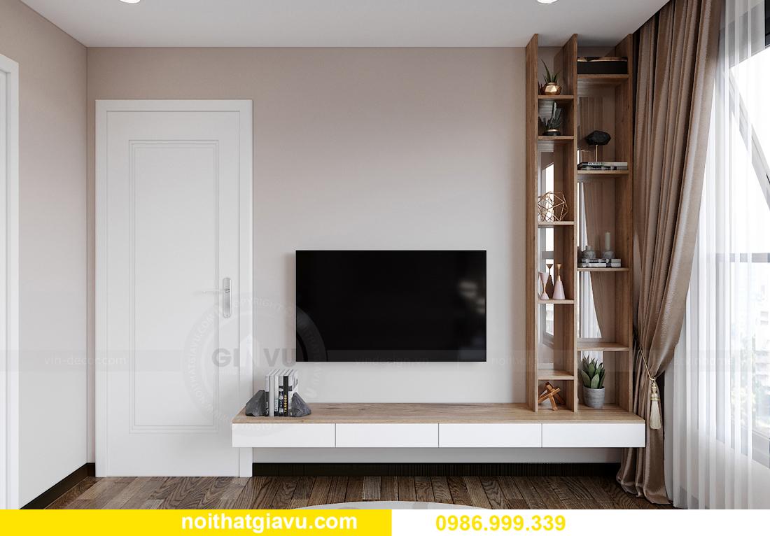 mẫu thiết kế nội thất căn hộ 01 tòa S202 Vinhomes Smart City 9