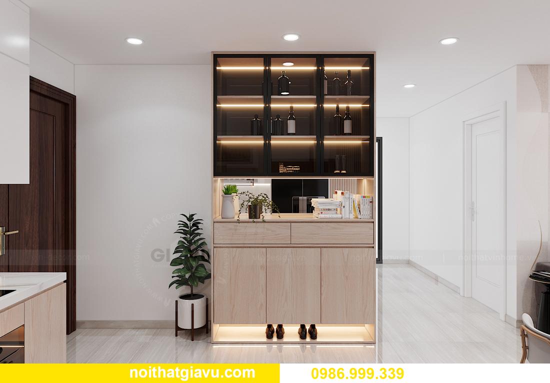 nội thất chung cư Smart City tòa S202 căn hộ 10A nhà anh Huy 1