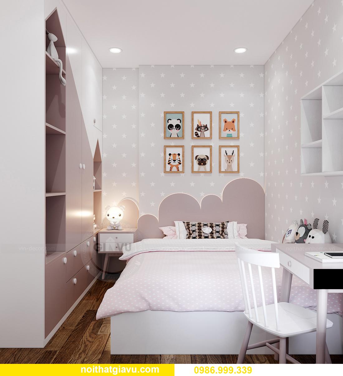 nội thất chung cư Smart City tòa S202 căn hộ 10A nhà anh Huy 10