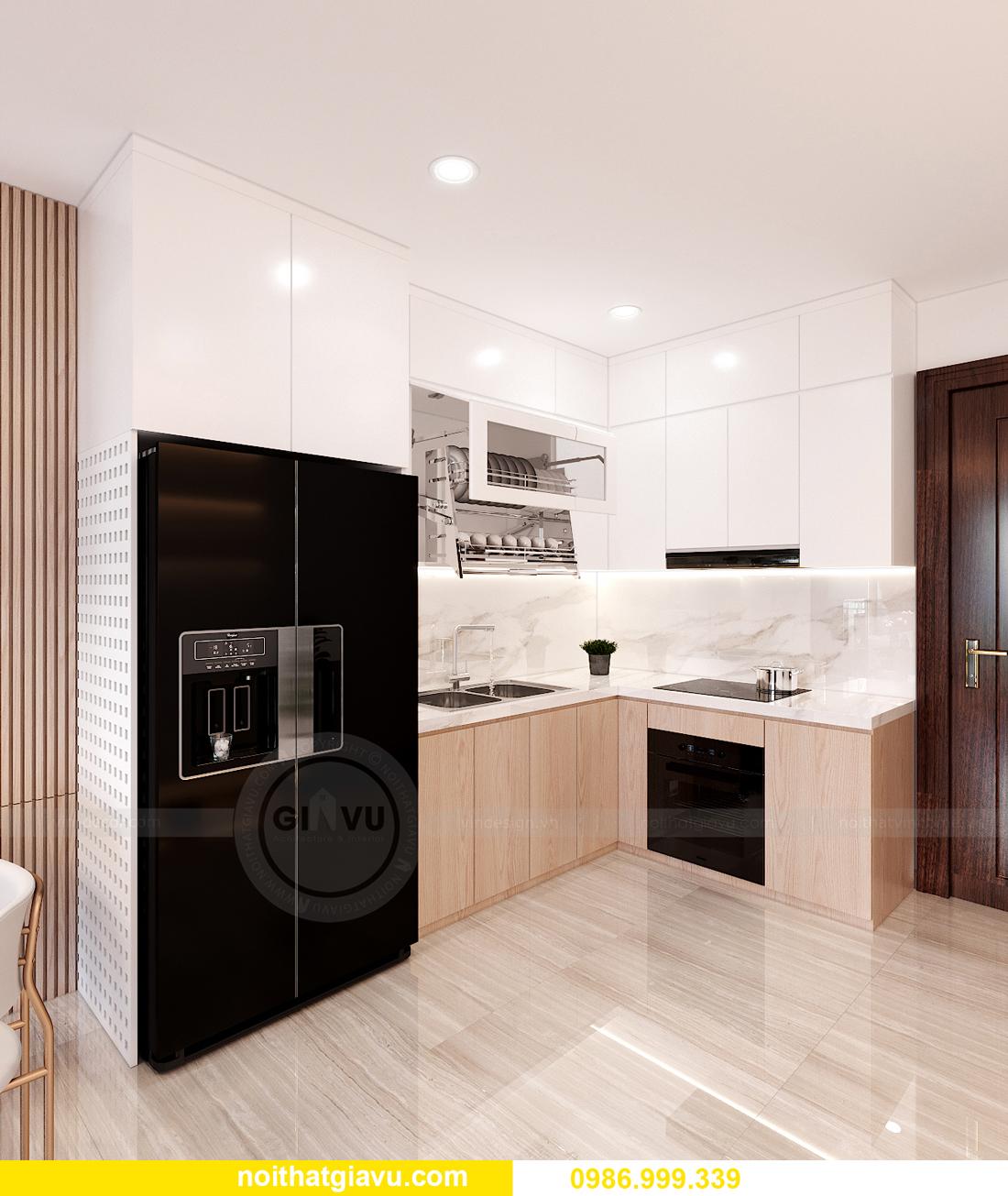 nội thất chung cư Smart City tòa S202 căn hộ 10A nhà anh Huy 2
