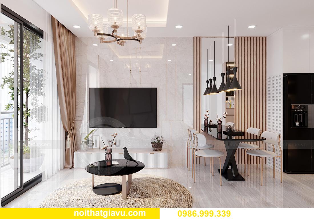nội thất chung cư Smart City tòa S202 căn hộ 10A nhà anh Huy 3