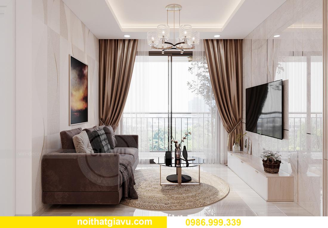nội thất chung cư Smart City tòa S202 căn hộ 10A nhà anh Huy 4