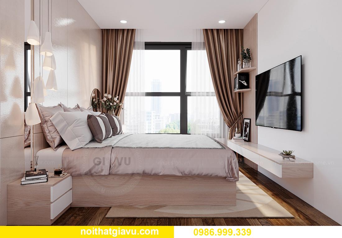 nội thất chung cư Smart City tòa S202 căn hộ 10A nhà anh Huy 5