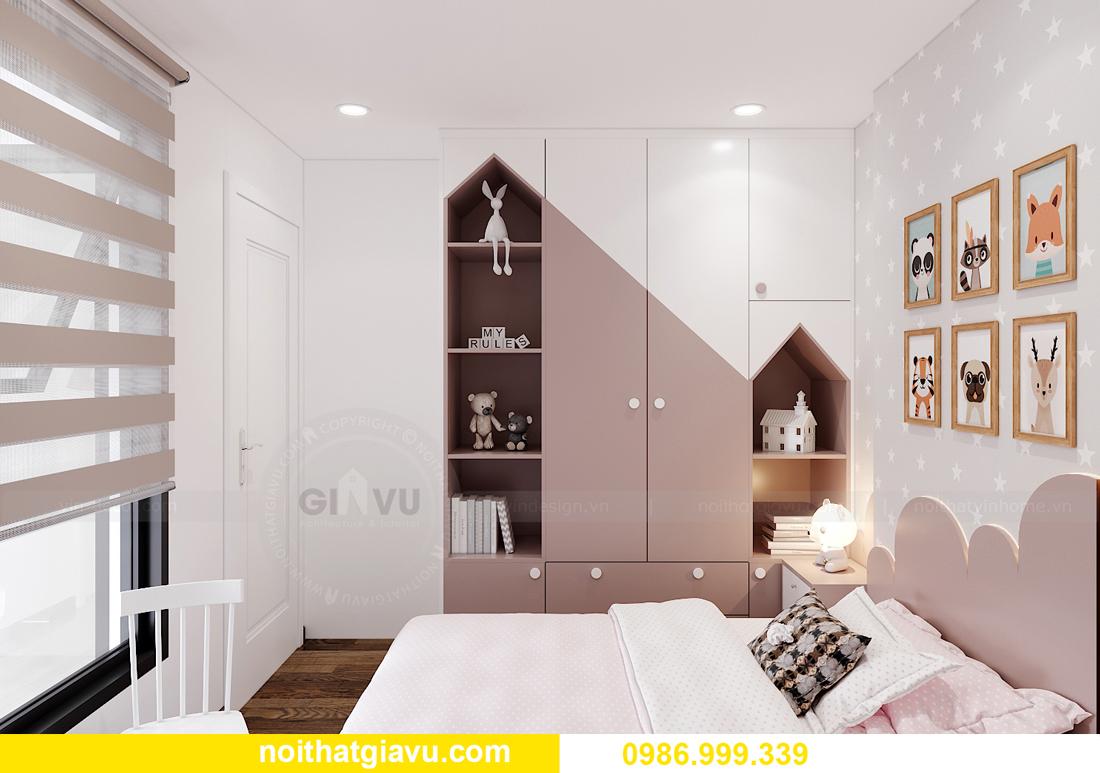 nội thất chung cư Smart City tòa S202 căn hộ 10A nhà anh Huy 8