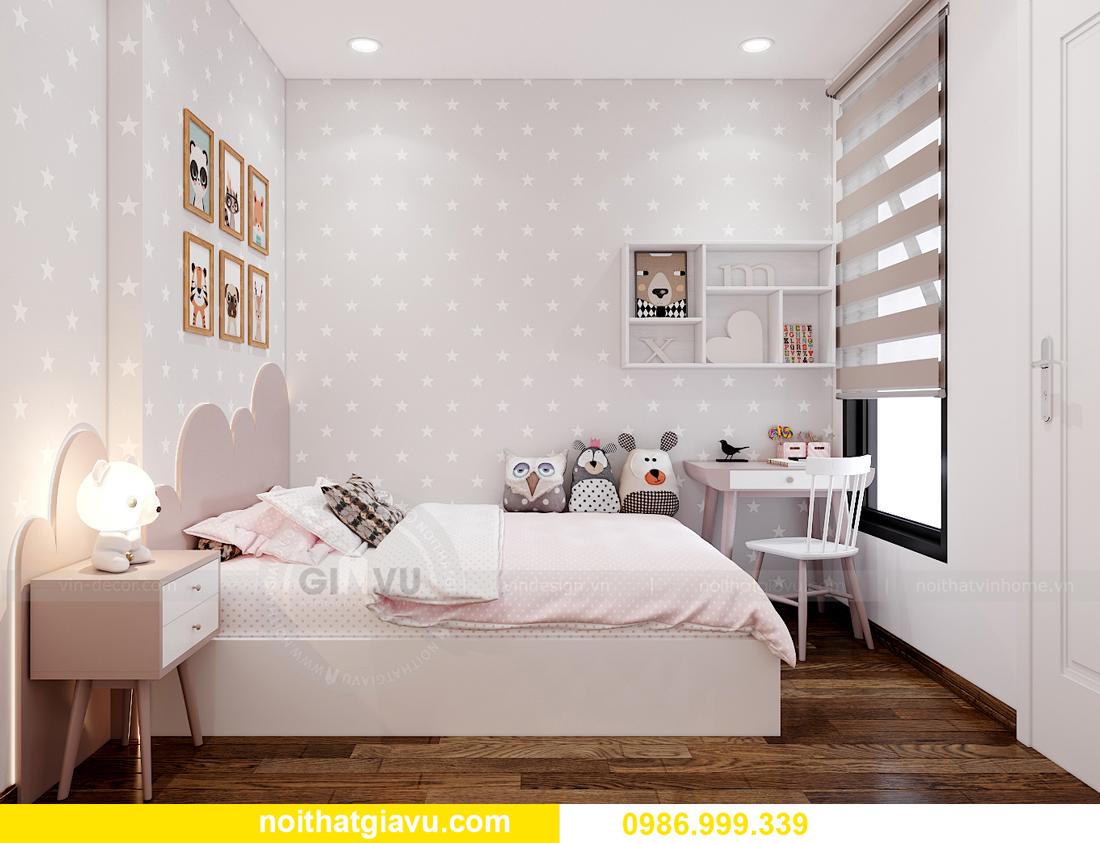 nội thất chung cư Smart City tòa S202 căn hộ 10A nhà anh Huy 9