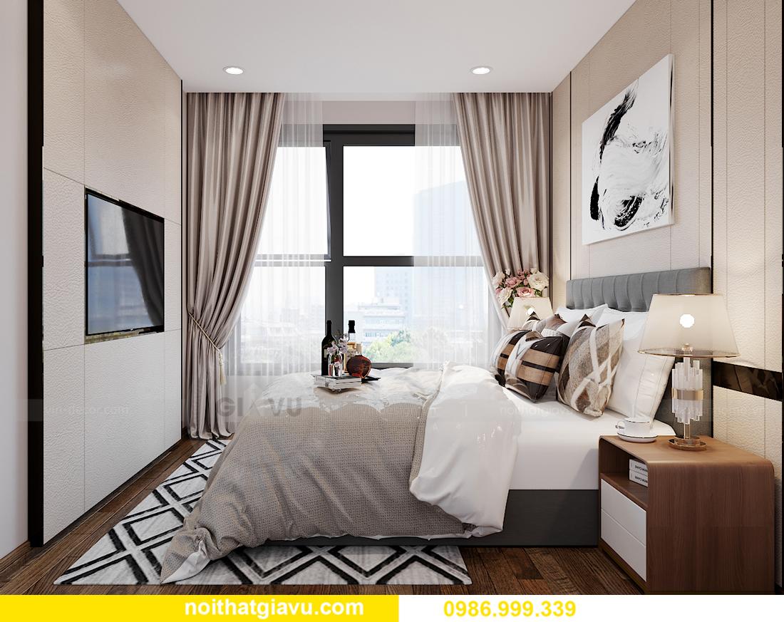 mẫu thiết kế nội thất Smart City tòa S202 căn hộ 17 chị Vy 8