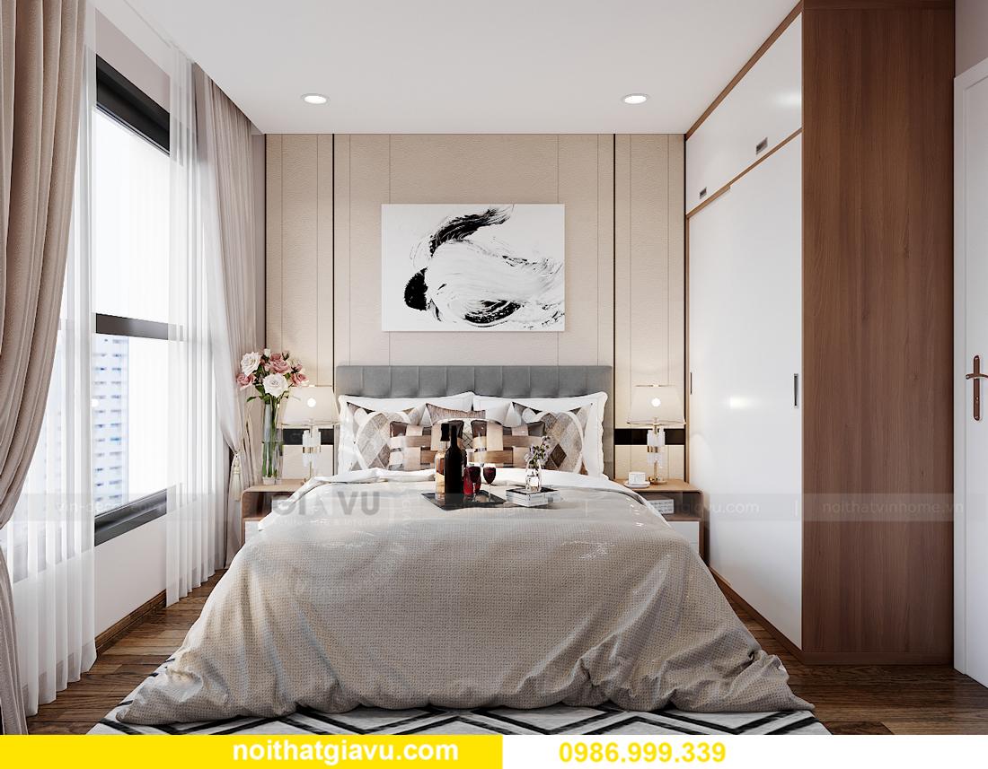 mẫu thiết kế nội thất Smart City tòa S202 căn hộ 17 chị Vy 9