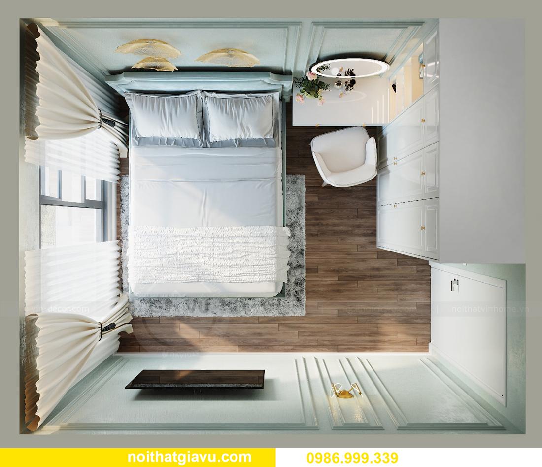 thiết kế nội thất căn hộ 2 ngủ tại chung cư Smart City nhà chị Hà 6