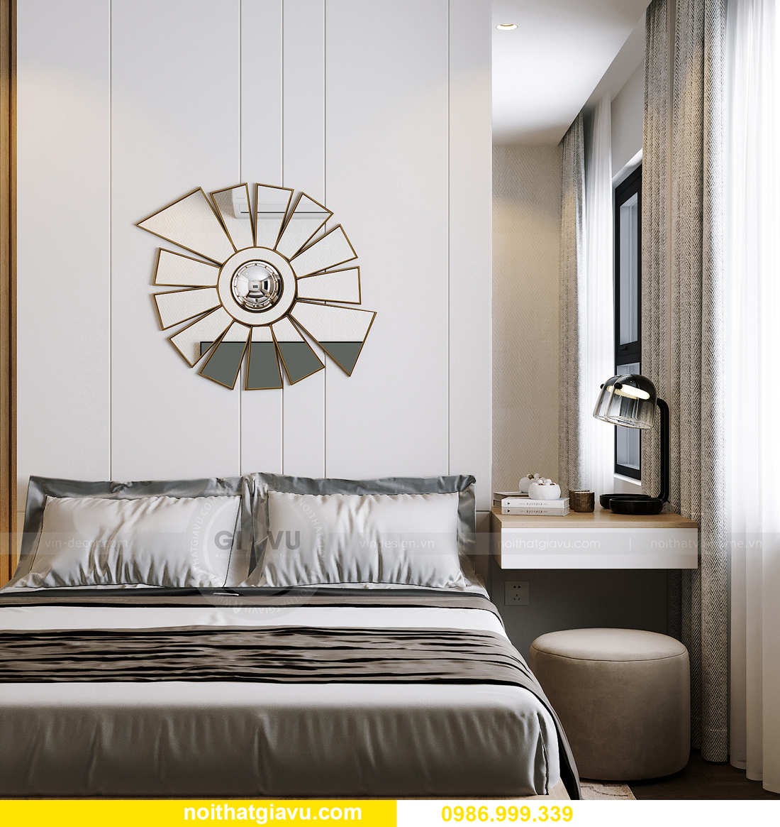 hoàn thiện nội thất căn hộ Smart City tòa S201 căn 2903 anh Hòa 10