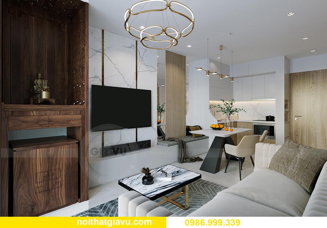 hoàn thiện nội thất căn hộ Smart City tòa S201 căn 2903 anh Hòa 3
