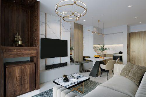 Hoàn thiện nội thất căn hộ Smart City tòa S201 căn 2903 anh Hòa