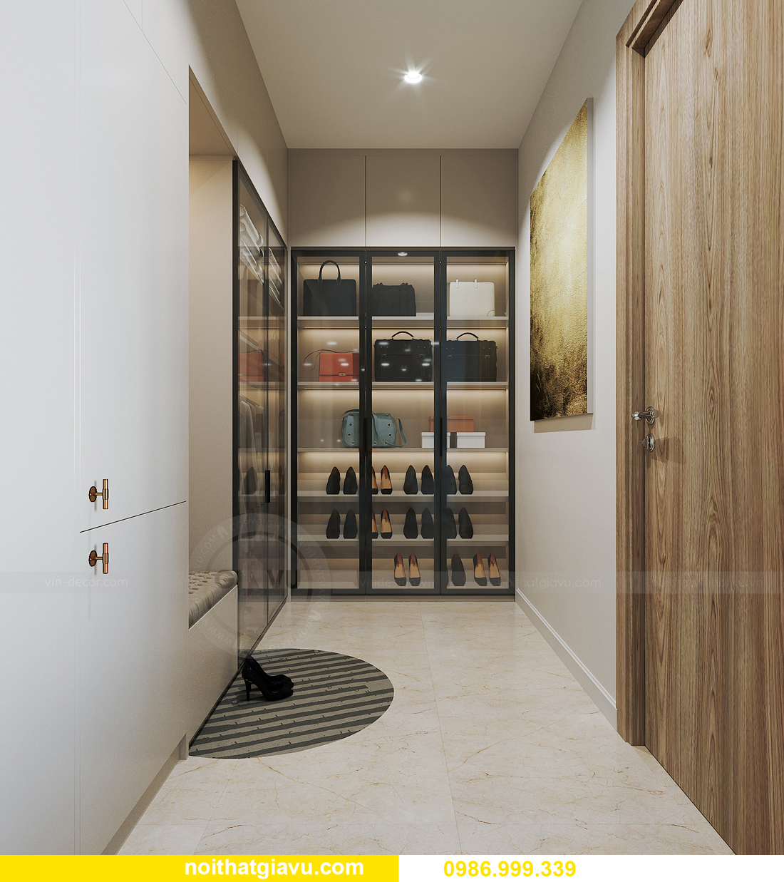 hoàn thiện nội thất căn hộ Smart City tòa S201 căn 2903 anh Hòa 6
