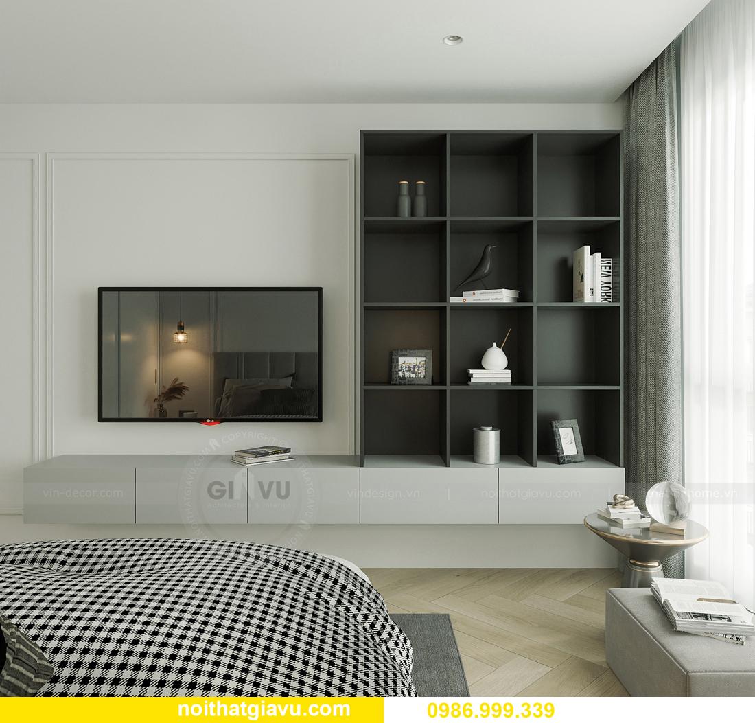 thiết kế thi công nội thất Smart City tòa S102 căn 17 chị Hà 10