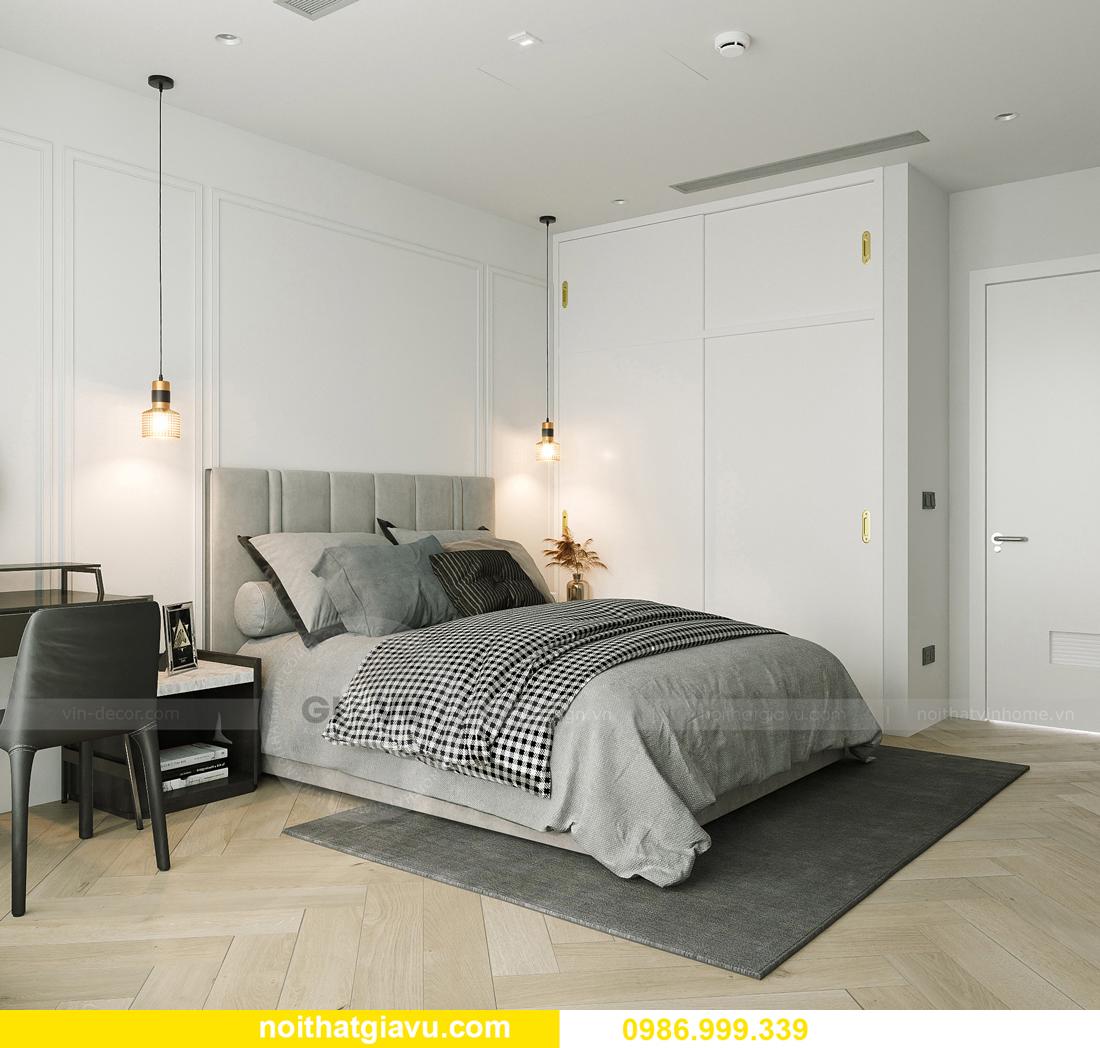 thiết kế thi công nội thất Smart City tòa S102 căn 17 chị Hà 9