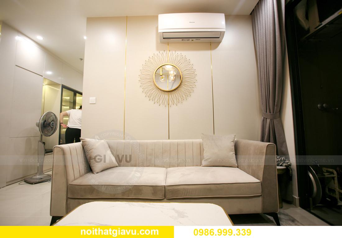 thi công nội thất căn hộ Vinhomes Smart City nhà anh Hòa 6