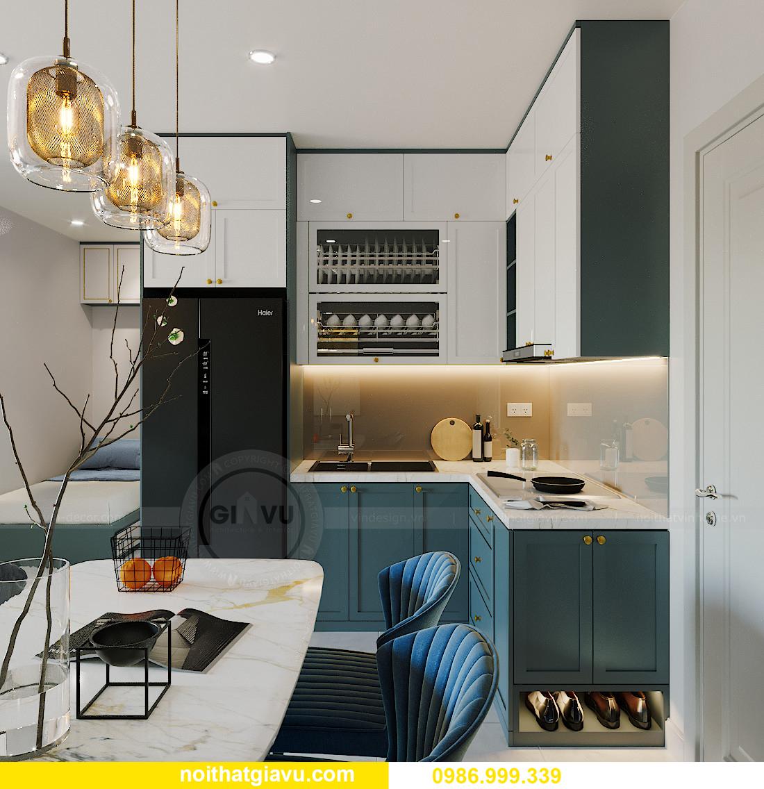 thiết kế thi công nội thất căn hộ Smart City tòa S201 căn 18 1
