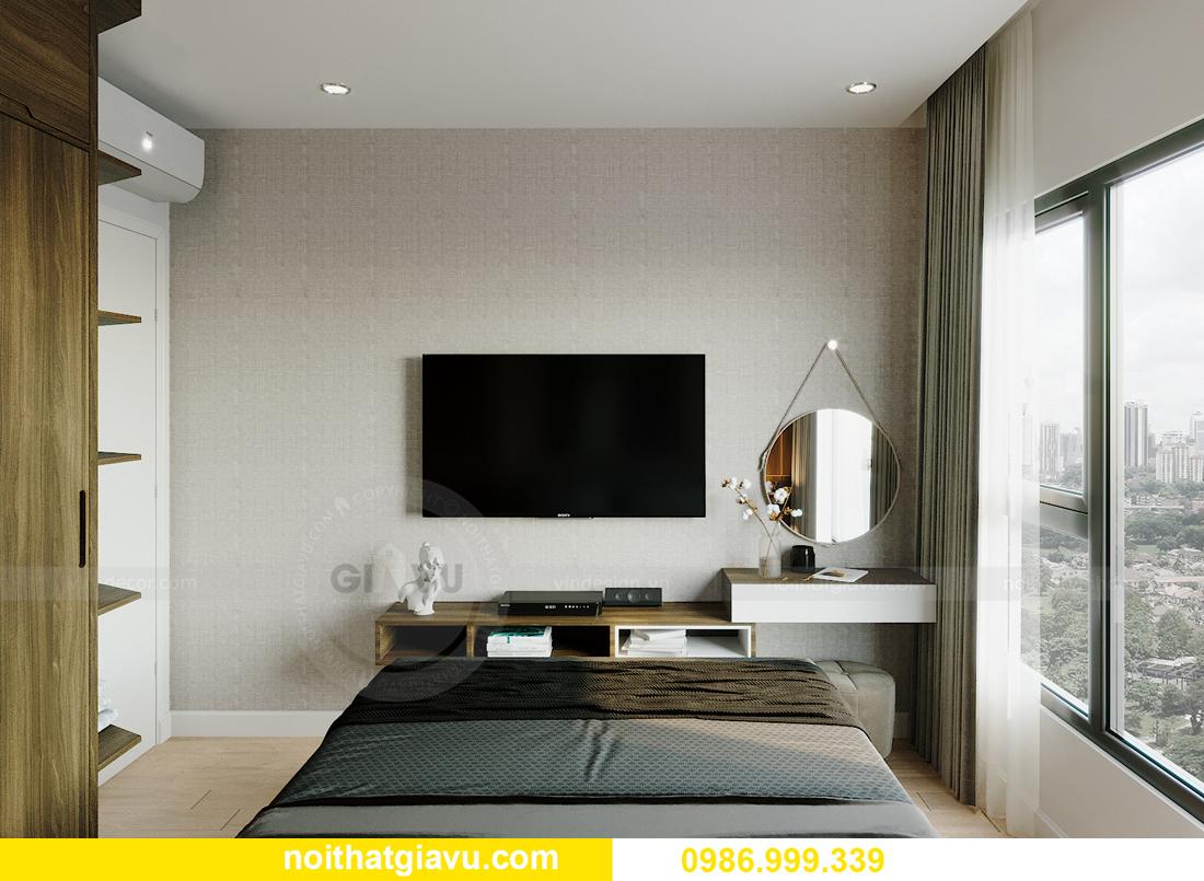 thiết kế thi công nội thất căn hộ Smart City tòa S201 căn 18 6