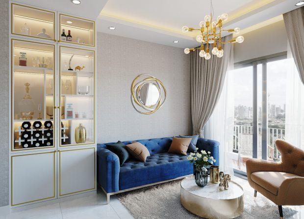 Thiết kế thi công nội thất căn hộ Smart City tòa S201 căn 18