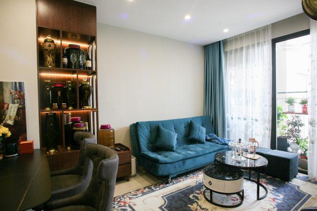 Hoàn thiện nội thất chung cư Smart City nhà anh Hân