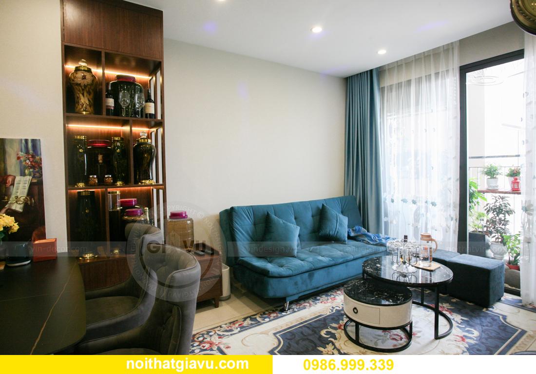 hoàn thiện nội thất chung cư Smart City nhà anh Hân 8