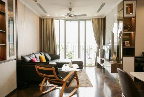 Thi công hoàn thiện nội thất căn hộ Smart City đẹp hiện đại